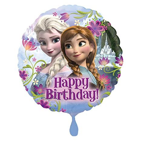 Home, Furniture & DIY PRINCESS SNOW GLOBE Happy  Birthday Party Mylar Balloon