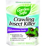 Garden Safe HG-93186 Crawling Insect Killer Containing Diatomaceous Earth,  4-Pounds