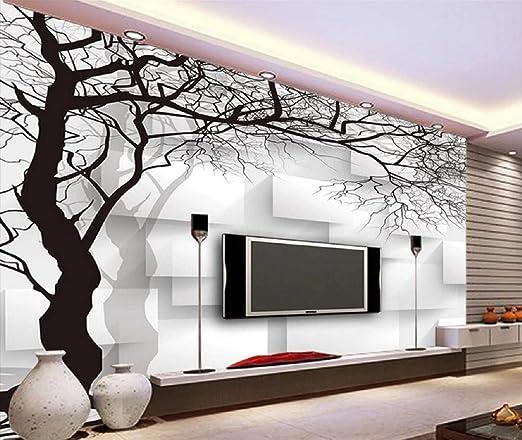 Fototapete 3d Effekt Tapete Handgezeichnete Schwarze Und Weisse