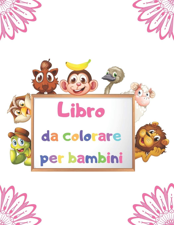 Buy Libro Da Colorare Per Bambini Disegni Da Colorare Facili Per