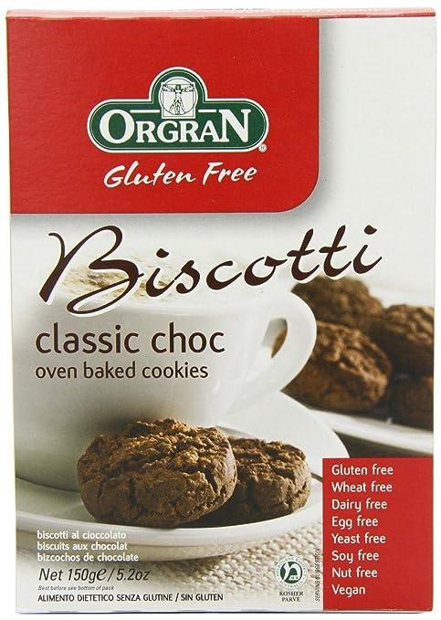 Amazon.com : Orgran - Gluten Free Biscotti - Choc Chip 150g ...