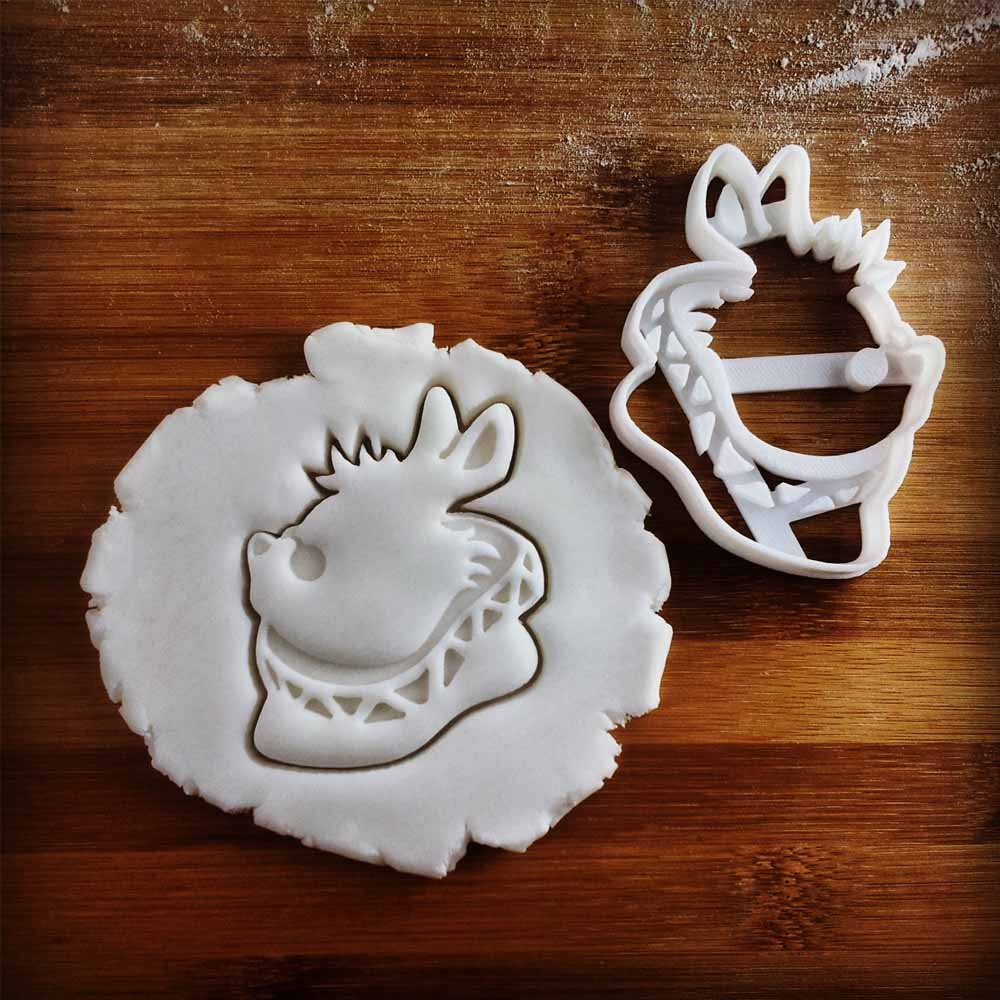 FULL SET of 4 Characters Cookie Cutters inspired by ''Alice's Adventures in Wonderland'' novel by Lewis Carroll, 4 pcs, Includes Alice, Mad Hatter, Cheshire, and White Rabbit characters by Bespoked Curations (Image #7)