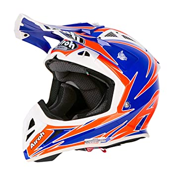 Casco Moto Airoh Aviator 2.2 Edge Cross Enduro L EDGE BLUE