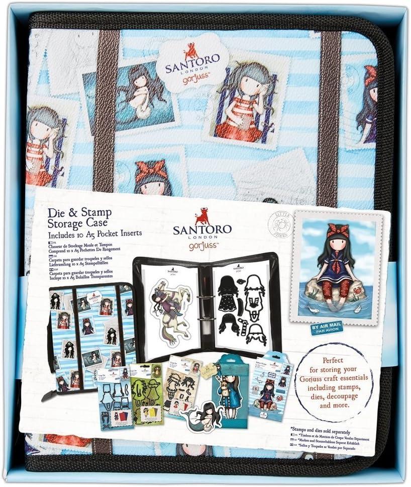 SANTORO Gorjuss Postal Craft Sellos de colección – Die y solución de Almacenamiento Caso: Amazon.es: Juguetes y juegos