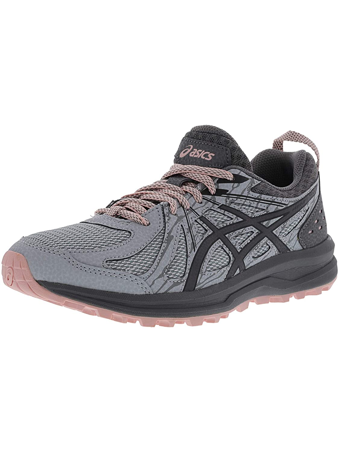 ASICS Women s Frequent Trail Running Shoe, Mid Grey Carbon, 8