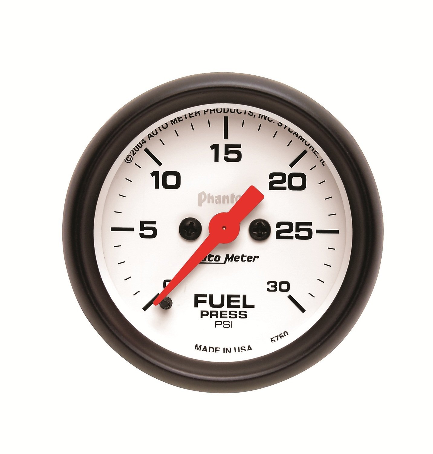 Auto Meter 5760 Phantom Electric Fuel Pressure Gauge