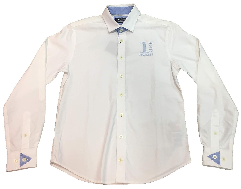 Hackett - Camisa de Manga Larga Numb, Chico, Color: Blanco (12 ...