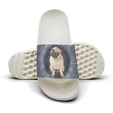 Amazoncom Cute Pug Dog Pug Puppiespng Womens Slides Slides Shoes