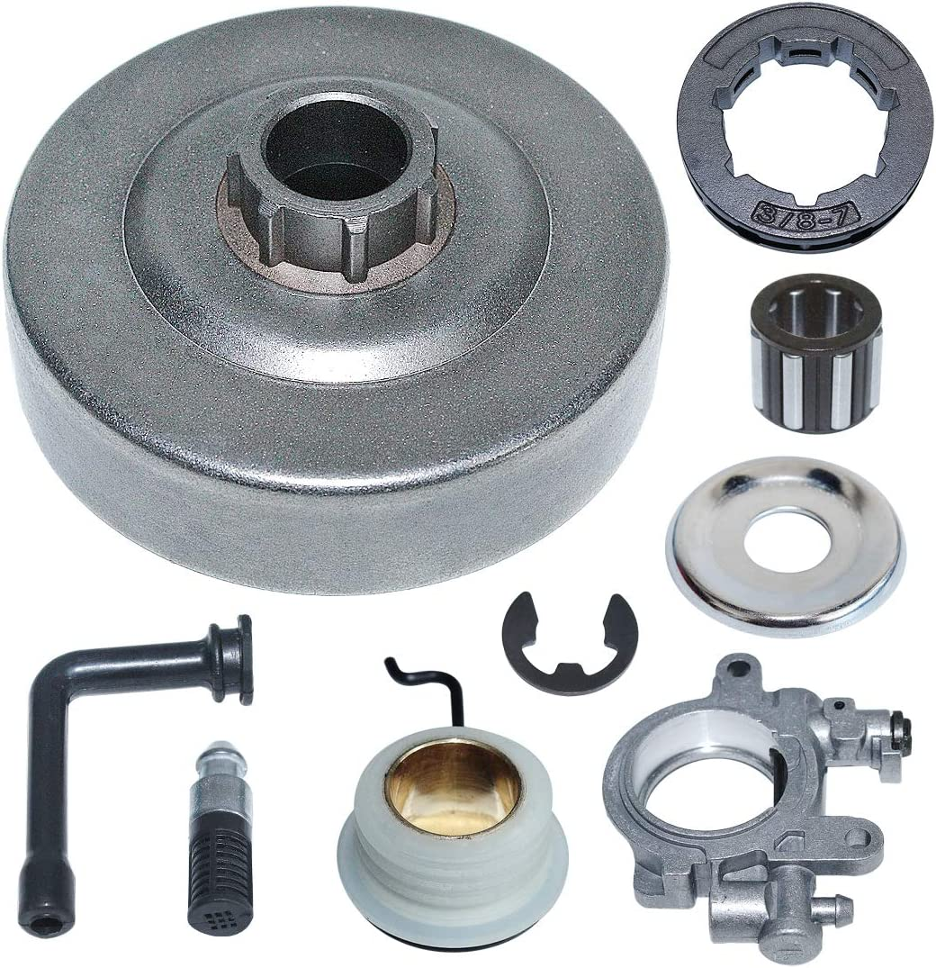 """replacement 3//8/"""" pitch 7 tooth rim sprocket set for Stihl MS290 029 039 chainsaw"""