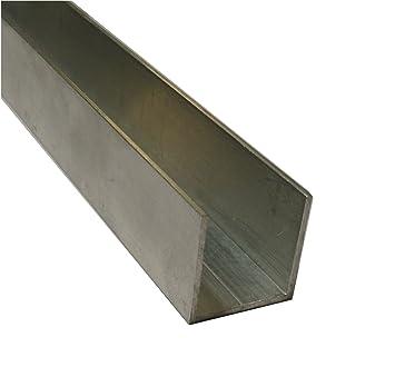 Super Aluminium U-Profil U35 35 x 35 MM Thickness: 3 MM, length: 1.4 M  KV04