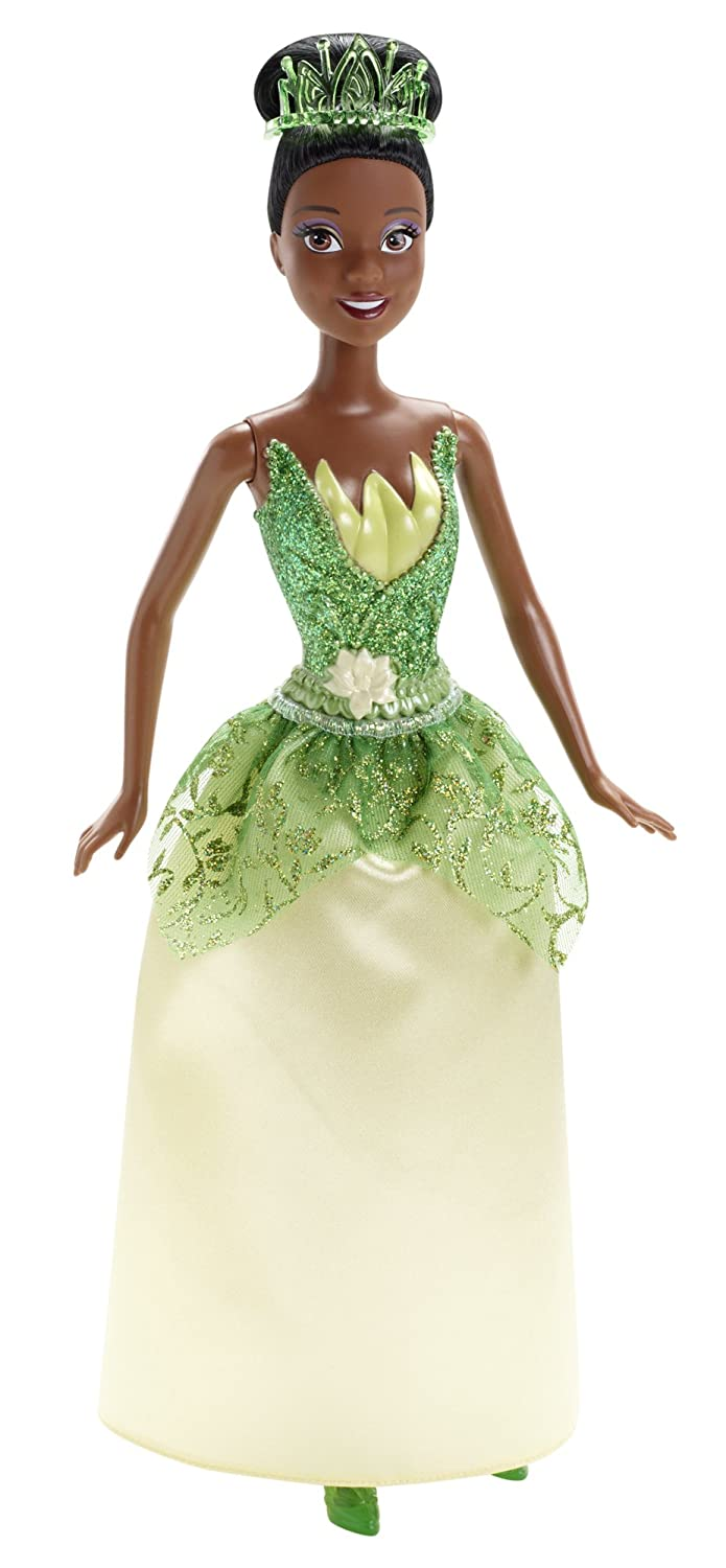 Amazoncom Disney Sparkle Princess Tiana Doll Toys  Games
