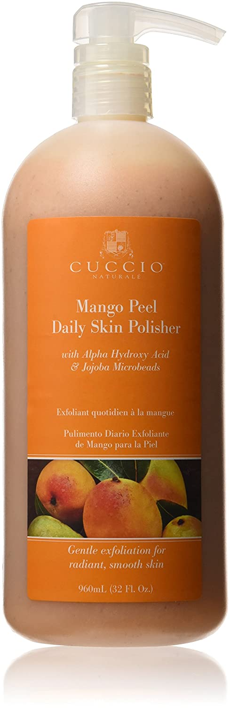 Cuccio Gentle Mango Hand Peel with Alpha Hydroxy Acid, 960 ml