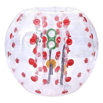 Pelota hinchable de parachoques burbuja balón de fútbol ...