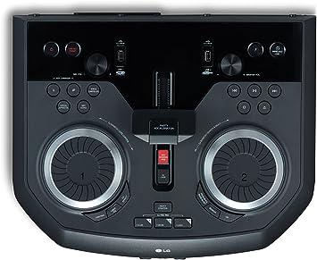 LG XBOOM OK99 - Altavoz Alta Potencia (1800W, Bluetooth, USB, Funciones DJ, Karaoke, iluminación), Negro: Amazon.es: Electrónica