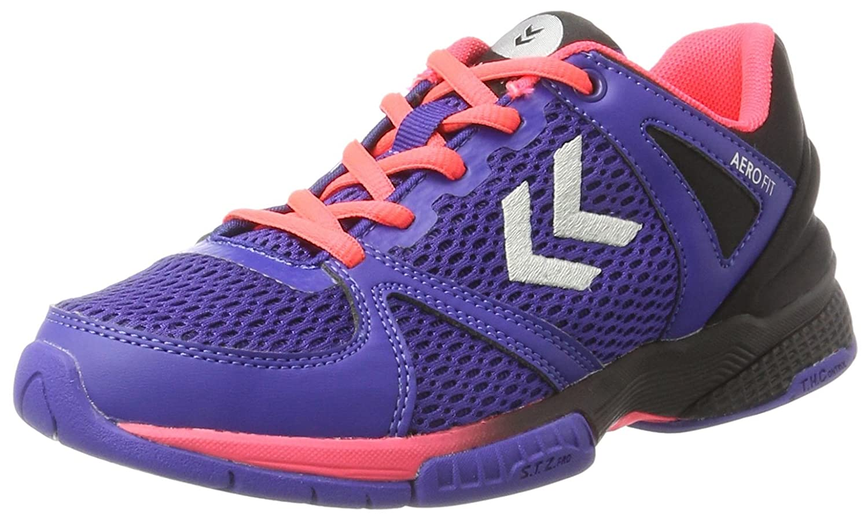 Unisex Adults Aerocharge Hb 180 Fitness Shoes, Rose/Bleu Nuit, 5 Hummel