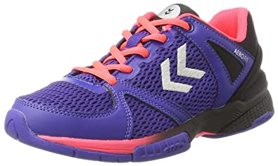 Womens Aerocharge Hb 180 Ws Fitness Shoes, Bleu/Rose, 5.5 Hummel