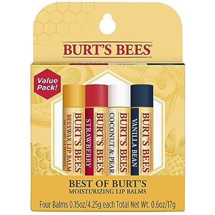 e78d539cb Amazon.com   Burt s Bees 100% Natural Moisturizing Lip Balm ...