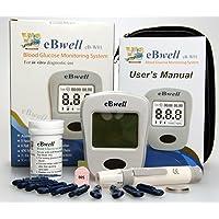 ebwell eb-w01Glucosa En Sangre Monitor Starter Pack Ideal