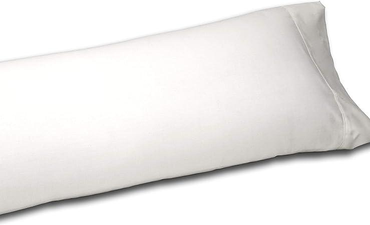 Sedalinne Sábanas HOTELES - Funda Almohada algodón de percal de 200 Hilos. Medida: 45x155 cm: Amazon.es: Hogar