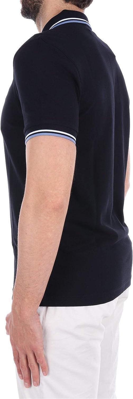 Fred Perry M3600 poloshirt heren ecru/paars/carbon blue, medium Blue
