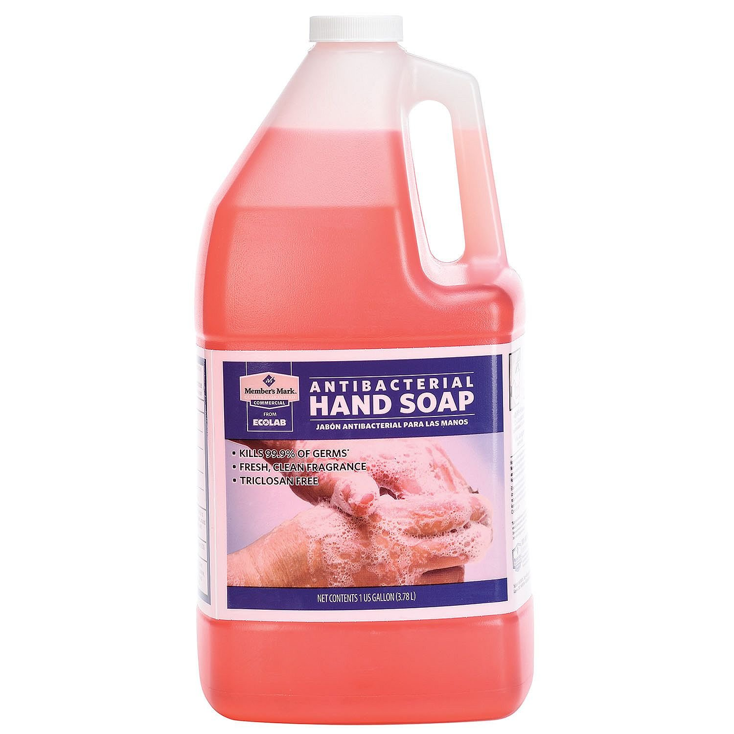 Member's Mark Commercial Antibacterial Hand Soap (1 gal.) (pack of 6) by Member's Mark