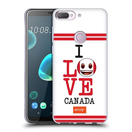 Amazon com: Official Emoji Canada I Love My Country Soft Gel