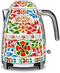 """Dolce and Gabbana x Smeg Electric Kettle,""""Sicily Is My Love,"""" Collection"""