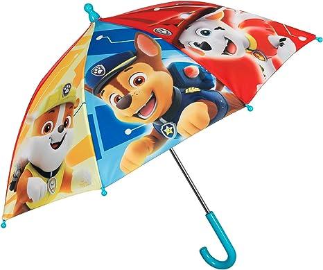Parapluie enfant gar/çon La Pat patrouille Bleu diam/ètre 76cm