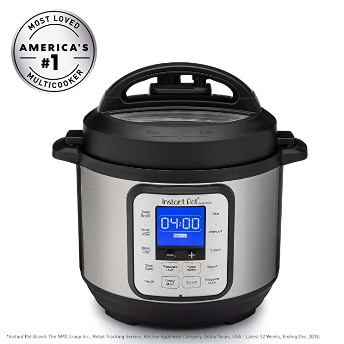 Instant Pot Duo Nova 3 quart 7-in-1 One-Touch Multi-Use Programmable Pressure Cooker with New Easy Seal Lid – Latest Model