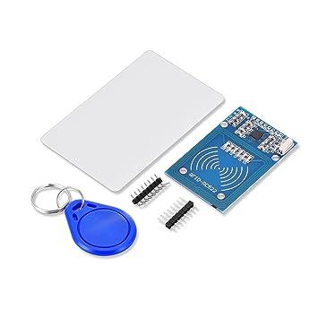 qobobo® MFRC-522, RFID-kit RC522 con transpondedor Mifare y ...