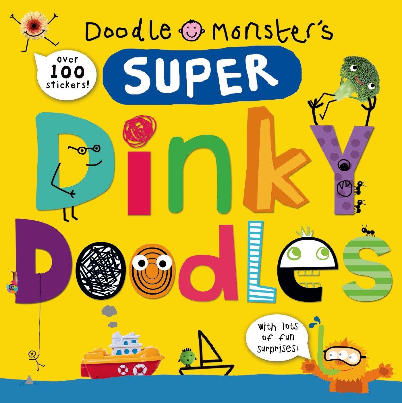 Super Dinky Doodles Stickers Surprises