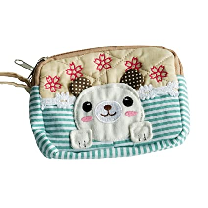 Amazon.com: [perro] bordado Applique Wallet Purse Pouch ...