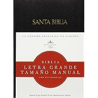 Biblia Letra Grande Tamano Manual Con Refeencias-Rvr 1960