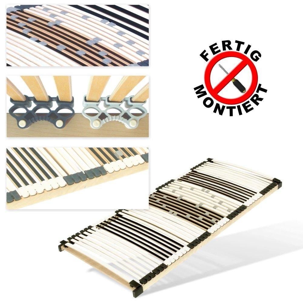 Matratzen Perfekt Qualitäts-Lattenrost Qualitäts-Lattenrost Qualitäts-Lattenrost UV, 7-Zonen, 44 Leisten, hoch-belastbar, stabil (90 x 200 cm) b5156e