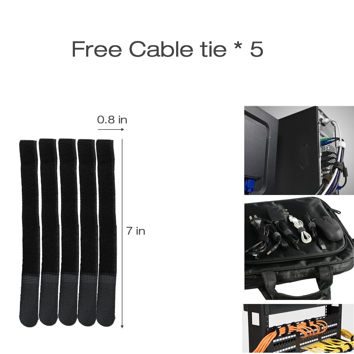 Lancher 19 Inch 1U Cable management Horizontal Cable Rack Mount manager with mounting screws for service rack cabinet 24 slot Finger Duct with Cover by Lancher (Image #6)