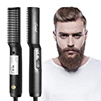 Deals on Entil Beard Brush for Men with Fast Heating