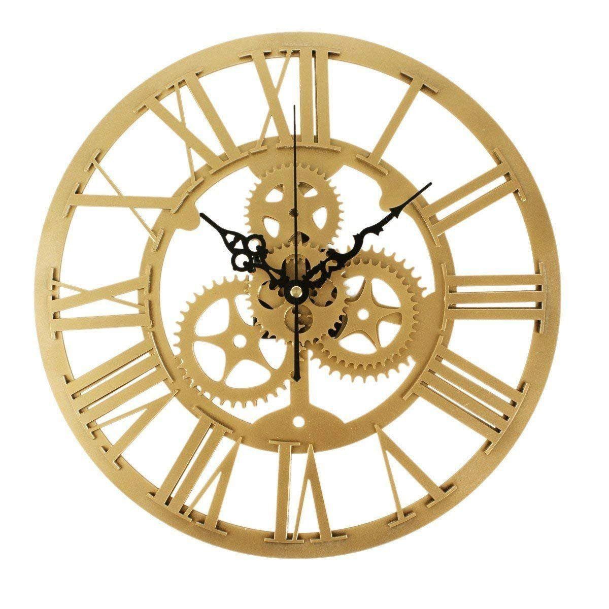 Amazon.com: GuoEY Ultra Silent Home Decorative Wall Mounted Clock ...