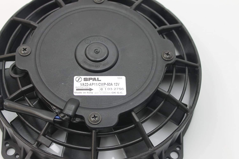 SPAL 12 V motor de ventilador del radiador Yamaha 00 – 06 Big Bear ...