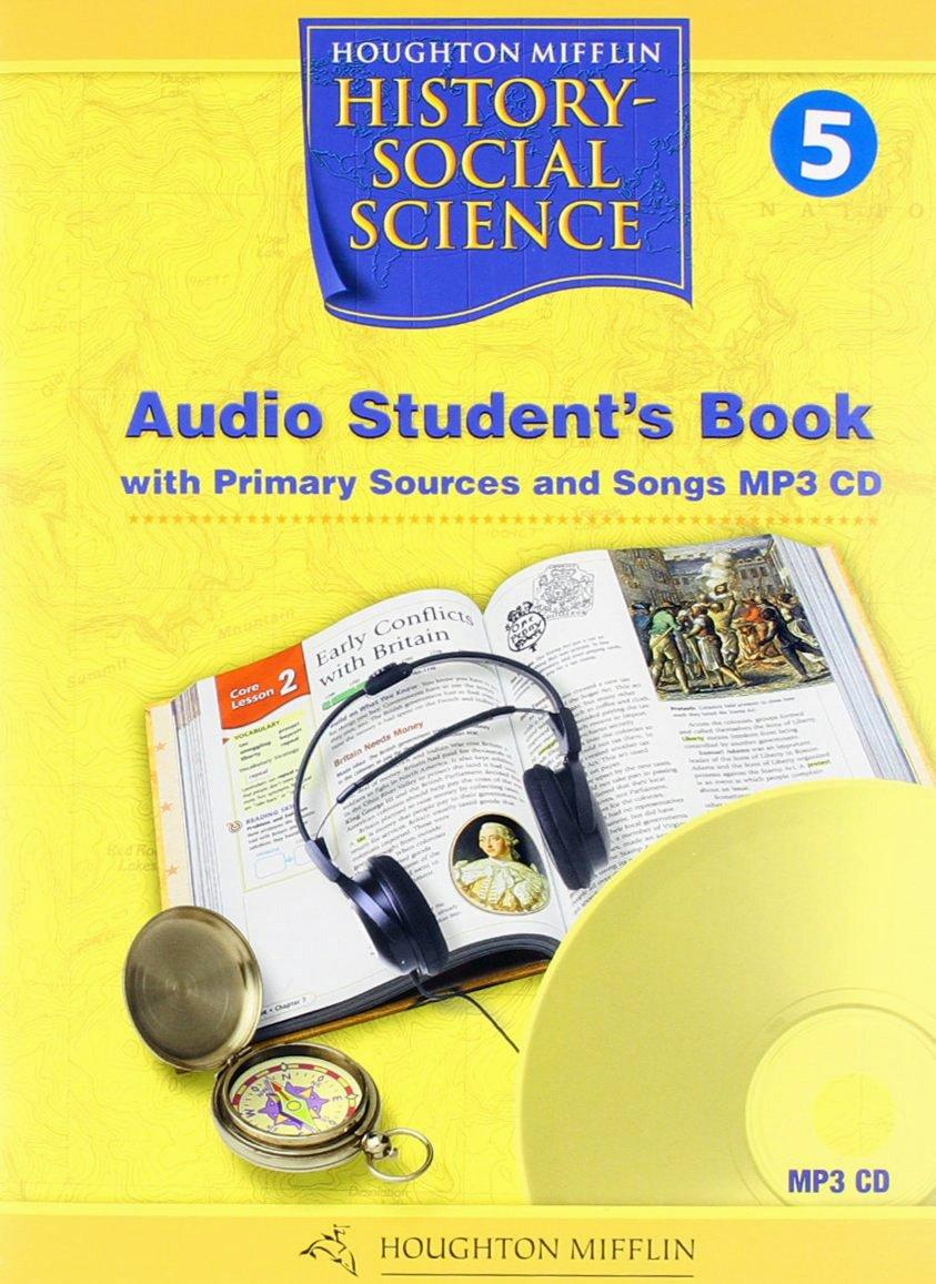 Houghton Mifflin Social Studies California: Aud Bk Mp3 Lvl 1