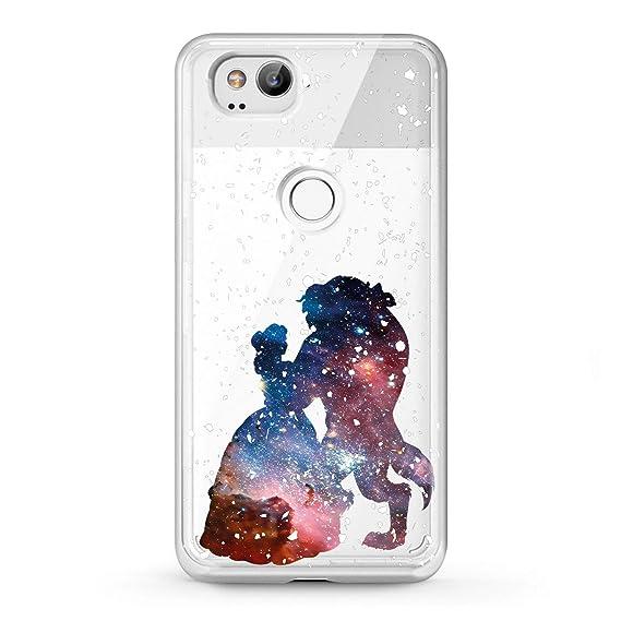 best service a2cc2 0a715 Lex Altern Google Pixel Case 3 XL 2 Belle Princess Clear Disney Cute  Flexible Beauty The Beast Phone Coverage Galaxy Transparent Pattern Design  Soft ...