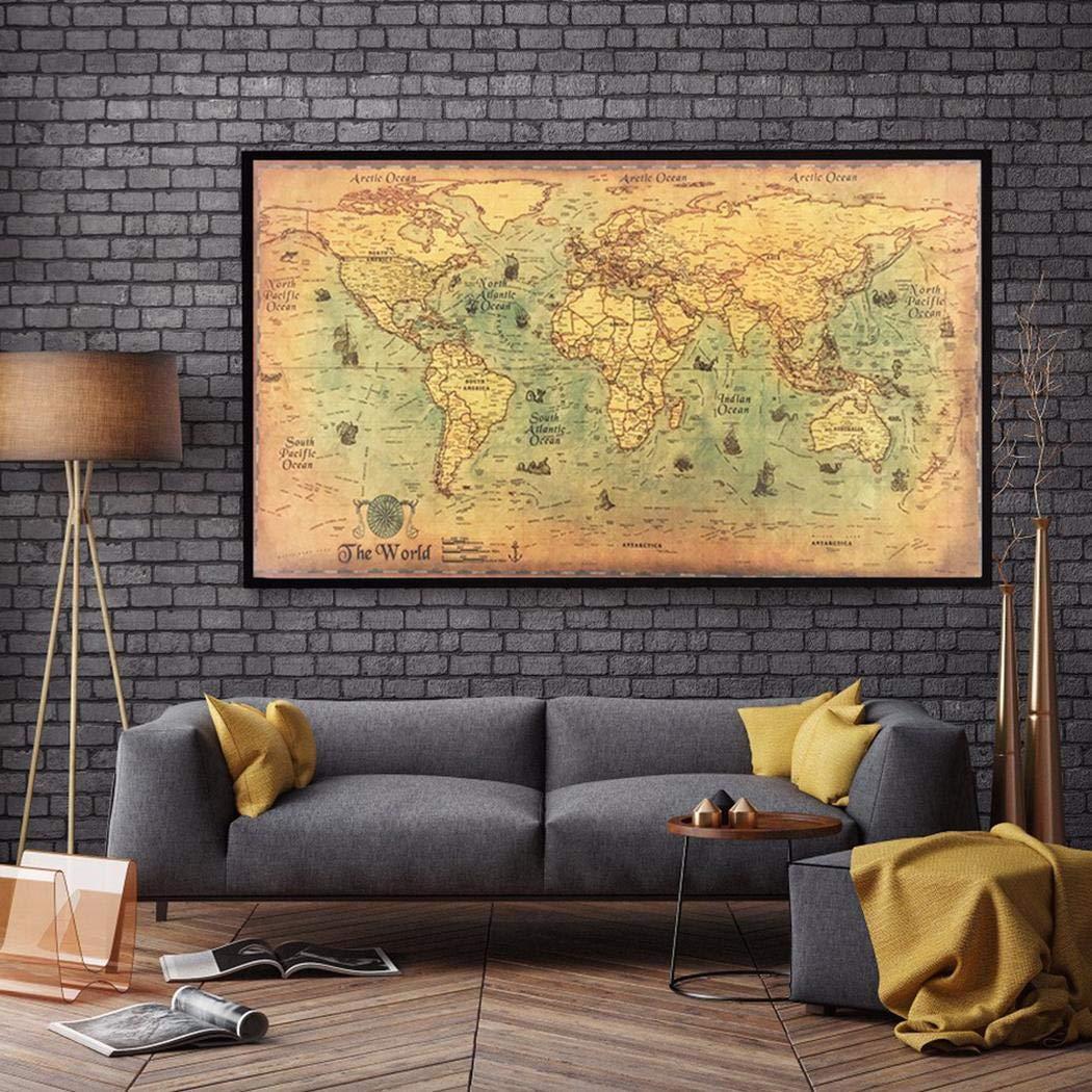 Mappa antichizzata