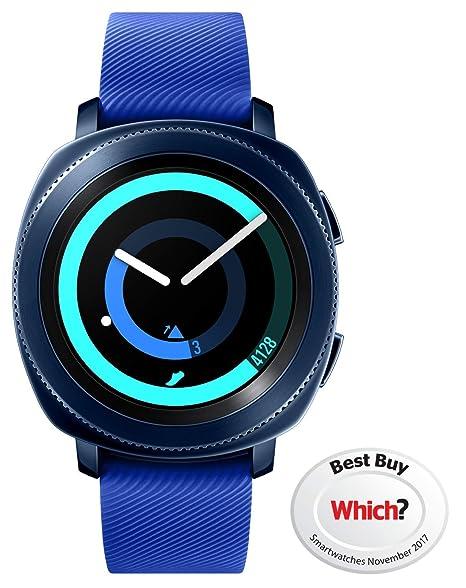 "Samsung Gear Sport Reloj Inteligente Azul SAMOLED 3,05 cm (1.2"") GPS"