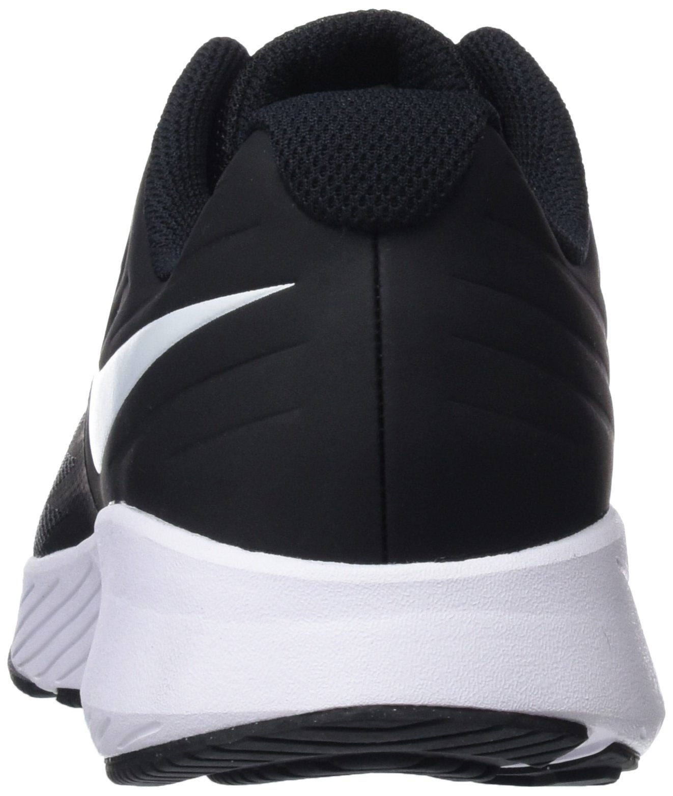 Nike Kids' Grade School Star Runner Running Shoes (3.5, Black/White) by Nike (Image #2)