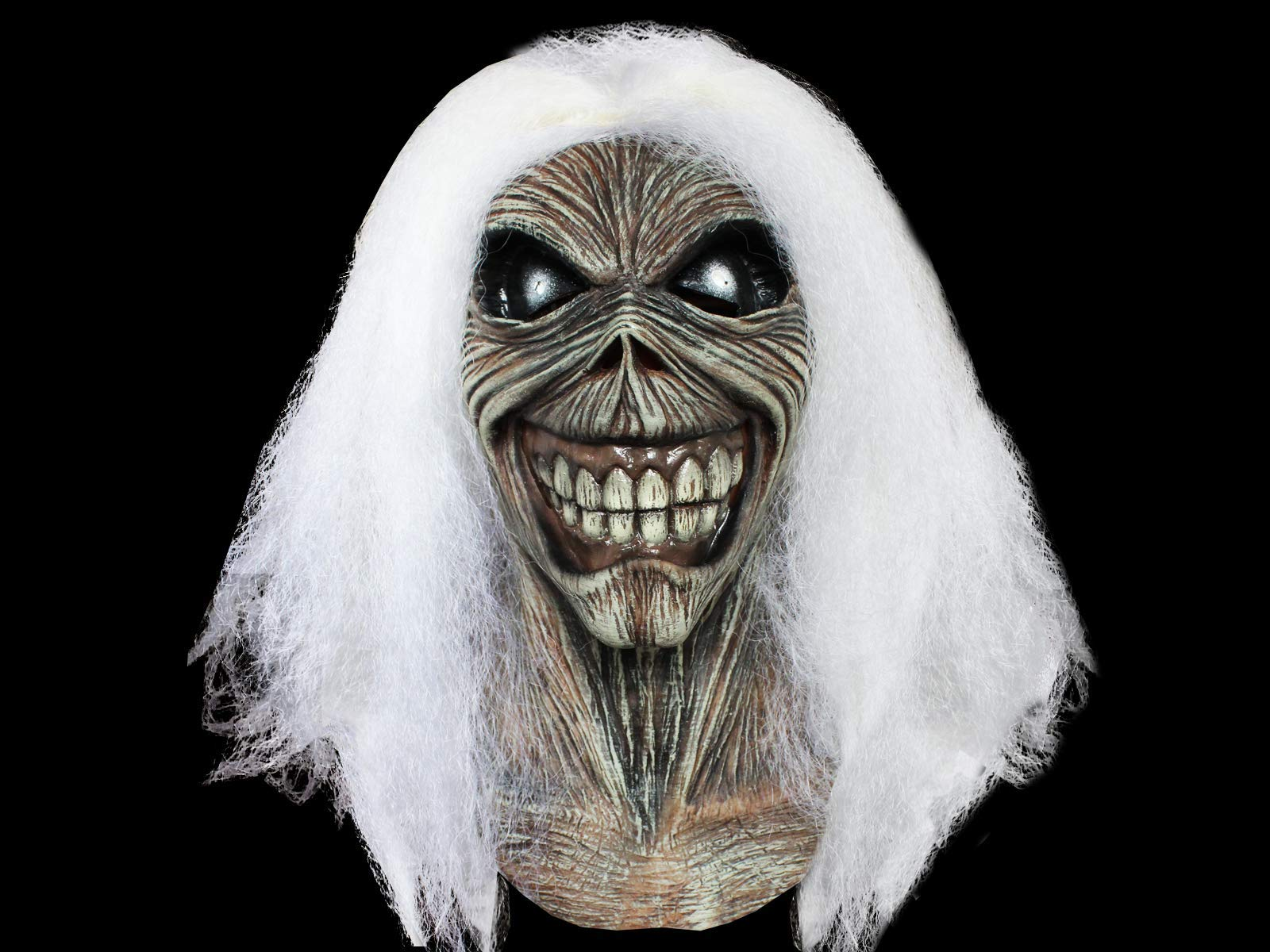Trick or Treat Studios Iron Maiden Killers Full Head Mask, Grey White, One-Size