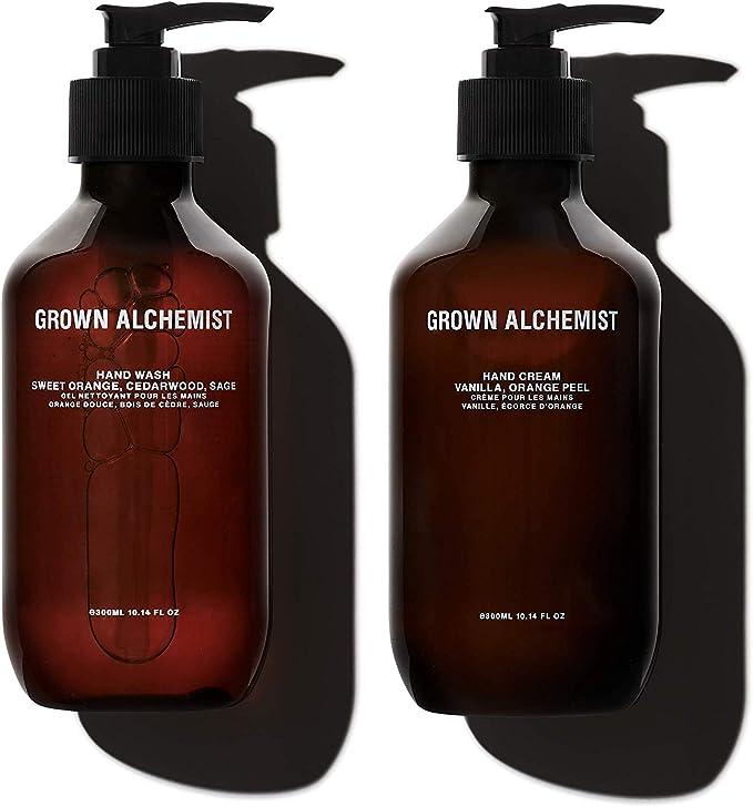 Grown Alchemist Hand Wash & Hand Cream Twin Set (300ml)
