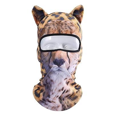 3D Animal Anti UV Elasticity Ski Mask Face Mask Riding Outdoor Sports Facekini Headwear With Ears