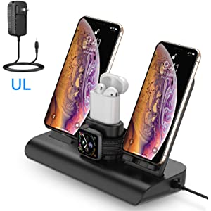 Amazon Com Wireless Charger For Iphone Charging Station For