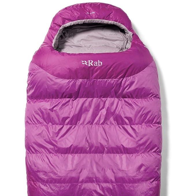 Rab Saco de dormir momia W Ascent 700 Hydrophobic Hightshade Uni: Amazon.es: Deportes y aire libre
