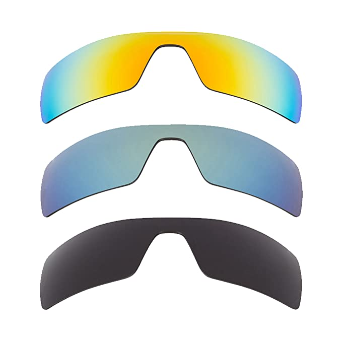 1a6f79703 Best SEEK Polarized Replacement Lenses for Oakley OIL RIG Grey Yellow  Green: Amazon.co.uk: Clothing