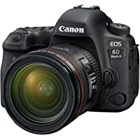 Canon EOS 6D Mark II Advanced Kit with EF 24-70mm f 4 L IS Digital Camera - SLR(6DIIADK) 3Inch Display,Black (Australian…
